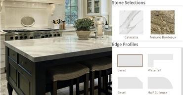 Countertop Edge Visualizer orjinal resimden Logo