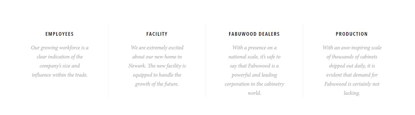 Fabuwood page