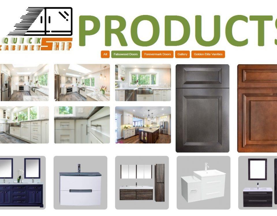 Cabinets Countertops Vanities products